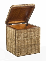 Cabana Banana Small Storage Trunk in Honey - Home Styles - 5401-26