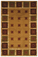 Cabin Blocks Floor Rug - 970016
