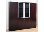 Cabinet Package in Mahogany - Mayline Office Furniture