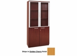 Cabinet with Doors in Golden Cherry - Mayline Office Furniture - VHCGCH