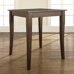 Cabriole Leg Pub Table in Vintage Mahogany Finish - Crosley Furniture - KD20001MA