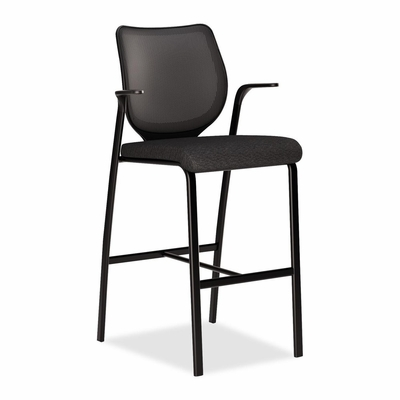 Cafe Height Stool - Black - HONN709NT10