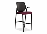 Cafe Height Stool - Wine - HONN709NT69
