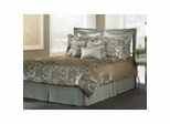 Cal King Size Comforter Set - 14 Piece Set in Pearl Reef Pattern - 80EQ714PEA