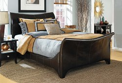 Cal King Size Comforter Set - 14-Piece Super Pack in Contemporary Blocks Pattern - 80EQ714CTB