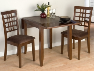 Caleb Brown 3 Piece Drop-Leaf Table Set - 976-30