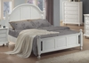 California King Size Bed - Kayla California King Size Bed in White - Coaster - 201181KW