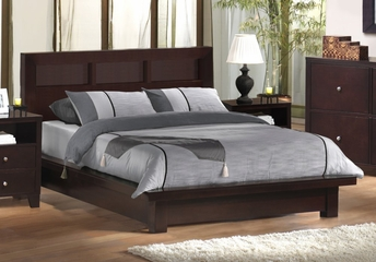 California King Size Bed - Knotch - KNO-CKB-CP-SET