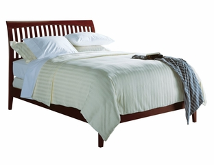 California King Size Low Profile Sleigh Bed - Newport - Modus Furniture - NP18L6
