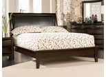 California King Size Platform Bed - Phoenix California King Size Platform Bed in Rich Deep Cappuccino - Coaster - 200410KW