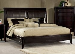 California King Size Sleigh Bed - 138-CKBED