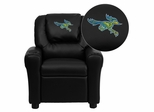 California State University - Bakersfield Roadrunner Embroidered Kids Recliner - DG-ULT-KID-BK-41013-EMB-GG