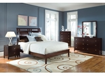 Calvin Cappuccino 5PC Queen Bedroom Set - B205Q