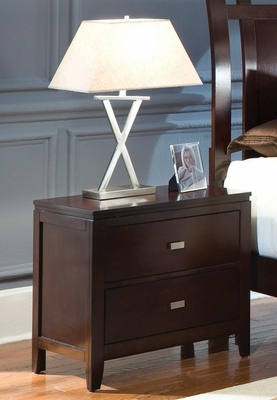Calvin Night Stand in Cappuccino - B205N