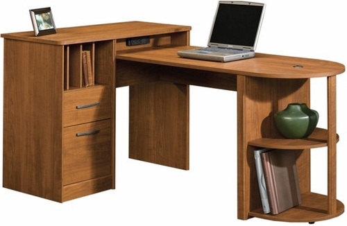 Camber Hill Desk with Return Sand Pear - Sauder Furniture - 408727