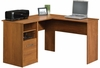 Camber Hill Desk with Return Sand Pear - Sauder Furniture - 409085