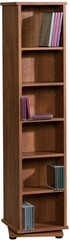 Camber Hill Multimedia Storage Tower Sand Pear - Sauder Furniture - 408968