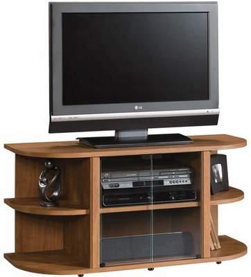 Camber Hill Panel TV Stand Sand Pear - Sauder Furniture - 408973