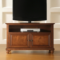 "Cambridge 42"" TV Stand in Classic Cherry Finish - Crosley Furniture - KF10003DCH"