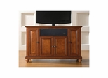 "Cambridge 48"" AroundSound TV Stand in Classic Cherry - CROSLEY-KF1002DASCH"