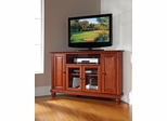 "Cambridge 48"" Corner TV Stand in Classic Cherry - CROSLEY-KF10006DCH"