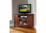 "Cambridge 48"" Corner TV Stand in Vintage Mahogany - CROSLEY-KF10006DMA"