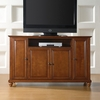 "Cambridge 60"" TV Stand in Classic Cherry Finish - Crosley Furniture - KF10001DCH"