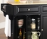 Cambridge Natural Wood Top Kitchen Island in Black Finish - Crosley Furniture - KF30001DBK