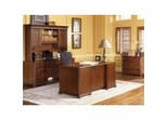 Camden Collection - Executive Office Furniture / Home Office Furniture Collection in Ginger Cherry Finish