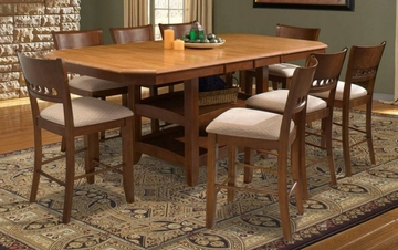 Camden Counter Height Dining Set 4 - Entree by APA Marketing - CAM-CDSET-4