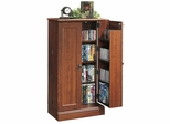 Camden County Audio / Video Storage Cabinet Planked Cherry - Sauder Furniture - 101750