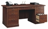 Camden County Executive Desk Planked Cherry - Sauder Furniture - 101744