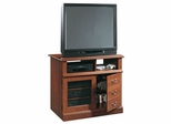 Camden County Highboy TV Stand Planked Cherry - Sauder Furniture - 101753