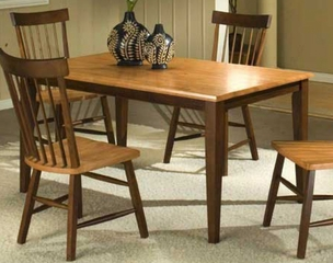 Camden Dining Leg Table - Entree by APA Marketing - CAM-3660