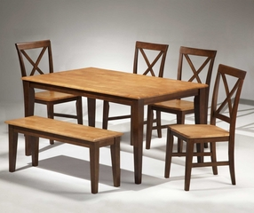 Camden Dining Room Furniture Set 2 - Entree by APA Marketing - CAM-DSET-2