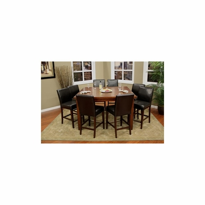 Cameo 9pc Counter Height Dining Set - American Hertiage - AH-713653