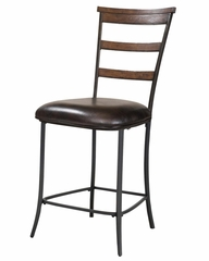 Cameron 5-Piece Counter Height Rectangle Wood Dining Set with Ladder Back Stools - Hillsdale Furniture - 4671CTBRS5