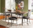 Cameron 5-Piece Rectangle Dining Set with X Back Chairs - Hillsdale Furniture - 4671DTBRC2