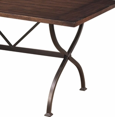 Cameron Rectangle Counter Height Dining Table - Hillsdale Furniture - 4671CTBR