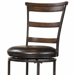 Cameron Swivel (Ladder Back) Bar Stool - Hillsdale Furniture - 4671-832