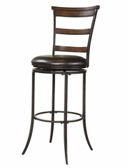 Cameron Swivel (Ladder Back) Counter Stool - Hillsdale Furniture - 4671-828