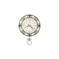 Camilla Gallery Wall Clock in Antique Gold - Howard Miller