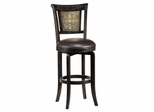 Camille Swivel Bar Stool with Etched Back - Hillsdale Furniture - 4861-830S
