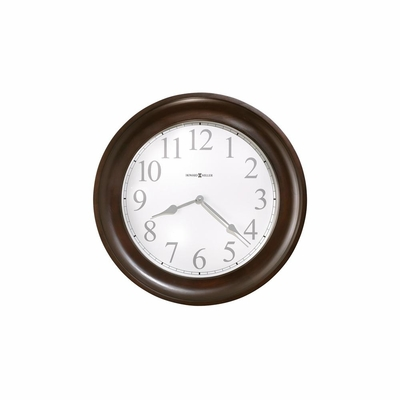 Camron Black Coffee Wall Clock - Howard Miller