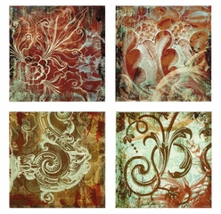 Canvas Wall Panels (Set of 4) - IMAX - 16187-4