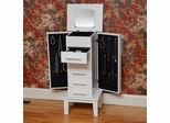 Cape Cod Jewelry Armoire - White - Bay Shore