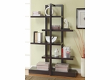 Cappuccino Bookshelf with 5 Open Shelves - 800317