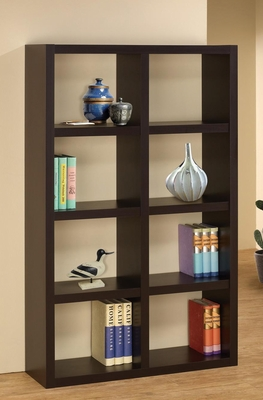 Cappuccino Simple Bookshelf - 800298