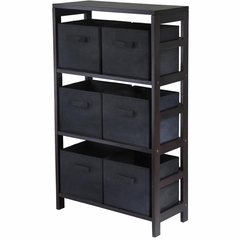 Capri M Storage Shelf - Winsome Trading - 92251