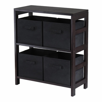 Capri M Storage Shelf - Winsome Trading - 92261